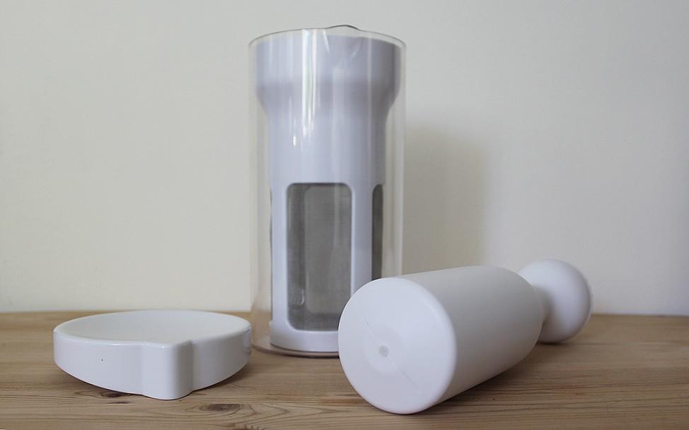 Concoctez facilement votre mousse de lait avec un joli pot à lait!
