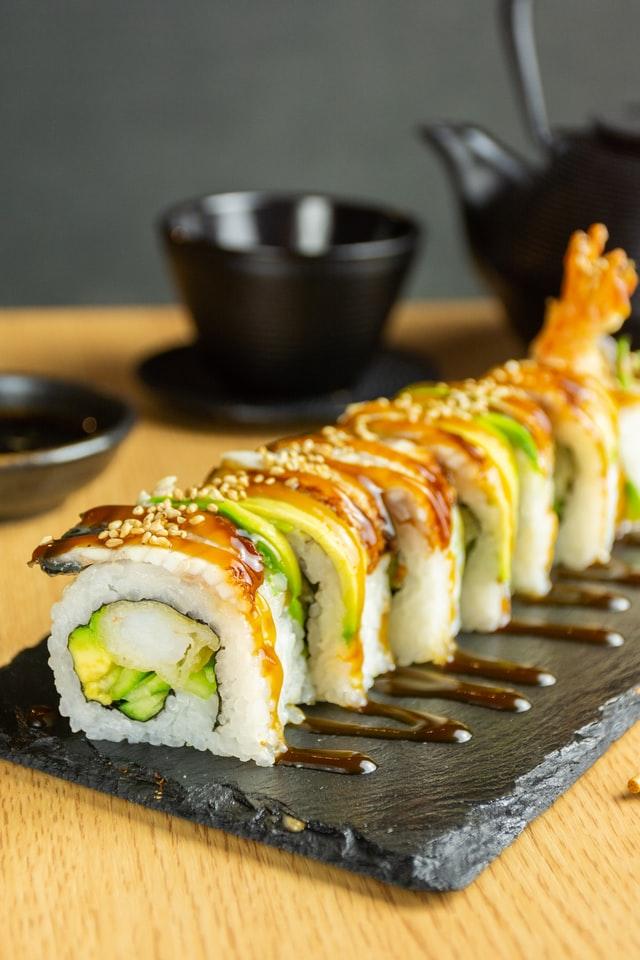 kit sushi pour maki rolls