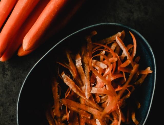 carotte épluchée