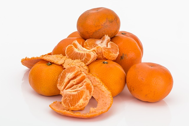 mandarine épluchée